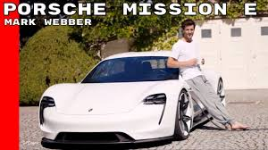 porsche mission e red porsche mission e with mark webber youtube