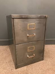 Retro Filing Cabinet Industrial Stripped Metal 2 Drawer Filing Cabinet Kendalls Conwy