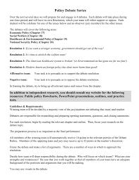 team policy debate outline simple resume format in word