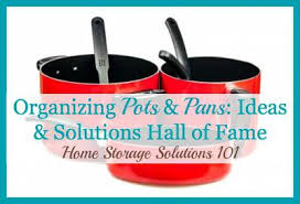 home pans organizing pots and pans ideas solutions