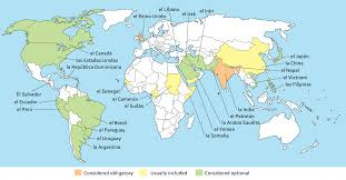 Spanish Speaking Countries Map Spanish Bilingualism Research Today