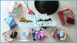 10 Must Travel Essentials For by Travel Essentials Carry On Must Haves