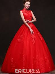 wedding dress high neck vintage high neck appliques gown wedding dress 11227755