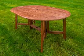 Drop Leaf Outdoor Table 60
