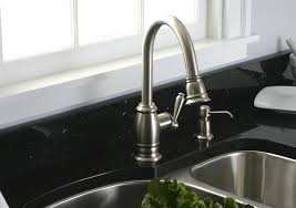 brushed nickel kitchen faucets brushed nickel kitchen faucets loccie better homes gardens ideas