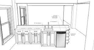 Size Of Kitchen Island With Seating Kitchen Design Measurements And Open In Island Sink Size Plan 10