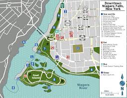 Map Ny Niagara Falls New York Map New York Map
