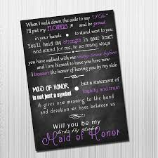matron of honor poem diy printable will you be my of honor card of honor