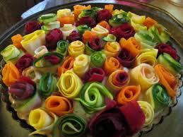 vegetable u201croses u201d tart the charmed kitchen