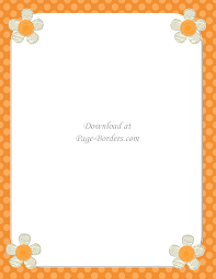 thanksgiving clip art border free flower border template