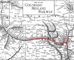 Map Of Utah And Colorado by File Colorado Midland Railway Map Jpg Wikimedia Commons
