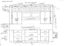 standard kitchen cabinet height in standard kitchen cabinet height