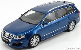 volkswagen variant 2015 otto mobile ot216 scale 1 18 volkswagen passat r36 variant 2015 blue