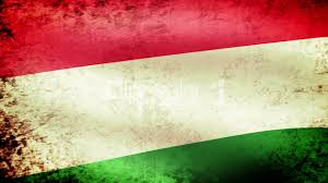 hungary flag waving grunge look royalty free video and stock footage