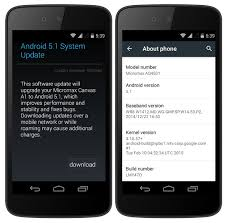 android update 5 1 micromax canvas a1 now getting the android 5 1 update