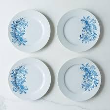 hanukkah plates swedish blue rosemaling dessert plates set of 4 on food52