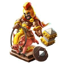 clash of clans clash of clans characters idea on behance