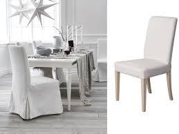 housse de chaise la redoute chaises dépareillées scandinave eames dsw fauteuil chaise