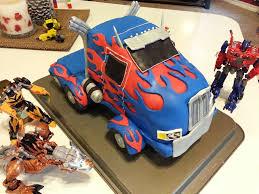 optimus prime birthday transformers 4 age of extinction optimus prime birthday cake