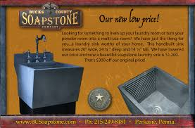 Deep Laundry Room Sinks by Soapstone Laundry Sink Befon For