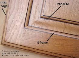 raised panel wood kitchen cabinet doors eclectic ware