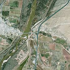 Map Of Rio Grande River More Than 260 Million Gallons Of Water Began Flowing Into The