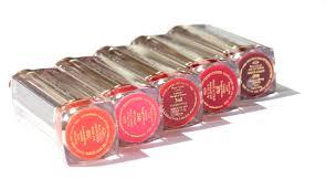 estée lauder pure color love lipsticks swatches of the 30 shades
