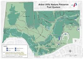 map of arbor arbor nature preserve maplets