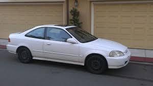 96 honda civic 2 door coupe purchase used 1996 honda civic ex coupe 2 door 1 6l in orange