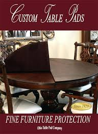 Dining Room Table Protectors Sentry Table Pads Dining Tables Table Pads For Room Protective