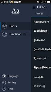 text free apk hifont cool font text free apk for android