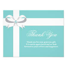 thank you card exle thank you cards for bridal shower thank