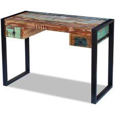 Reclaimed Wood Executive Desk Solid Wood Desk Ebay