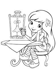 short e coloring pages