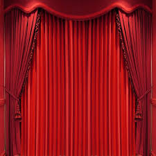 Stage With Curtains Powerpoint Backgrounds For Free Powerpoint Templates