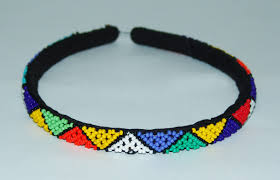 hair band zulu beaded hair band mehrunnisa