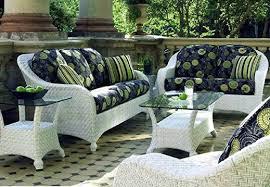 fabulous white wicker patio furniture outdoor decor concept white