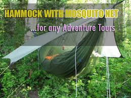 hammock with mosquito net for adventure tours u0026 camping