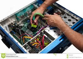 Laptop Repair Technician Computer Repair Service Stock Photo Image 19539430