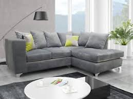 grey fabric corner sofa angelina left corner sofa grey fabric high quality plush cushions