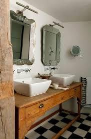 Black And White Checkered Tile Bathroom Cottage Styled Bathroom Ideas With Black And White Checkerboard