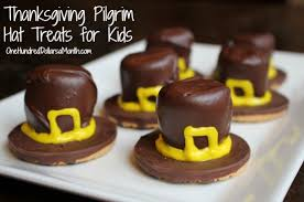 thanksgiving pilgrim hat treats for one hundred dollars a month