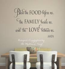 dining room view dining room wall decals sayings design ideas