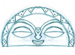 taino moon sketch by mavericktears on deviantart