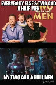 Avengers Meme - two and a half men avengers meme