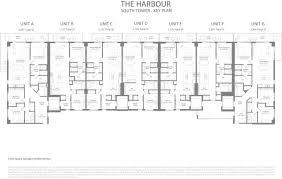 floor plans the harbour miami official site