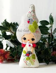 313 best christmas felt dolls images on pinterest felt dolls