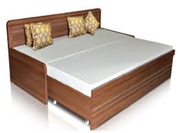 Buy Bed Online Buy Wooden Slider Bed Online In India Nitraafurniture Com