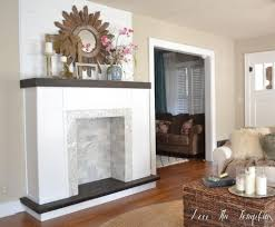 build a fake fireplace fireplace ideas