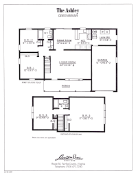 Arlington House Floor Plan by Greenbriar Levittownbeyond Com